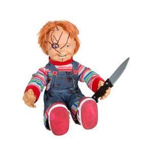 チャイルド・プレイ チャッキーの話す人形です。トーキングドールと取り外し可能なプラスチック製ナイフの...