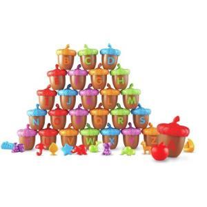 知育玩具 英語教材 アルファベット ドングリ えいごであそぼ 幼児 子供 誕生日 ギフト クリスマス プレゼント|acomes