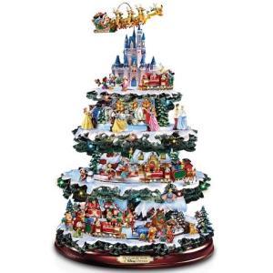 ディズニー  クリスマスツリー 卓上 The Wonderful World Of Disney 40cm クリスマス インテリア 飾り ウインター シーズン 部屋 デコレーション|acomes