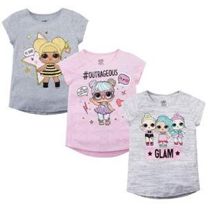 LOL サプライズ シリーズ3 L.O.L. サプライズ!Tシャツ 3枚 セット 子供|acomes