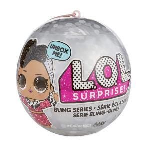 L.O.L. サプライズ! ブリング シリーズ 7サプライズ クリスマス プレゼント 誕生日 ギフト おもちゃ 人形 lolサプライズ|acomes