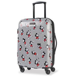 クラシックミッキーマウスのスーツケースです。ディズニー公式商品です。  【仕様】ハードシェル、アメリ...