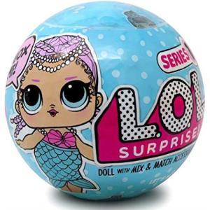 今、大人気のL.O.L. サプライズ!のシリーズ1-1ドールです。シークレットメッセージ、コレクティ...