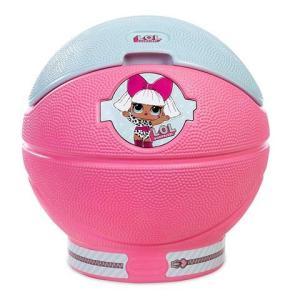 L.O.L. サプライズ!のキュートなトイを収納できる、かわいいピンクのトイケースです。安全のために...