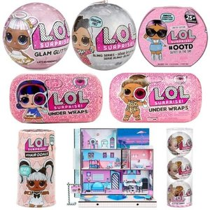 L.O.L. Surprise!の#Hairgoals 2個, グラム グリッター2個,アンダーラッ...