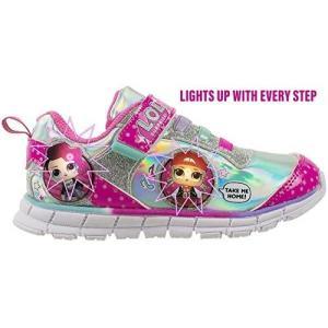 LOLサプライズ L.O.L. サプライズ! ライトアップ スニーカー 子供 靴|acomes|02