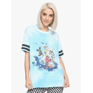 キングダムハーツのガールズTシャツです。  *素材:綿95%、スパンデックス5% *お手入れ方法:水...