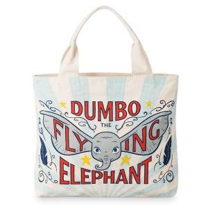 ディズニー映画ダンボの有名な空飛ぶ象のビンテージスタイルのポスターアートをフィーチャーしたラージトー...