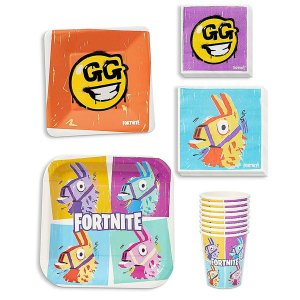 フォートナイト グッズ 紙皿 紙コップ パーティーパック 8人 テレビゲーム|acomes
