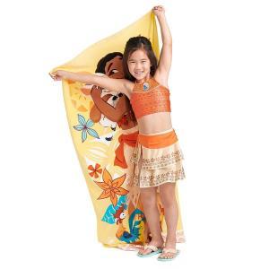 モアナと伝説の海 モアナの幼児・子供用のトップ、ボトム、スカートのデラックススリーピース水着です。U...