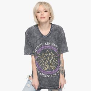 ゼルダの伝説 時のオカリナ ハイラル王国ツアー ガールズTシャツです。  *素材:綿100 *お手入...