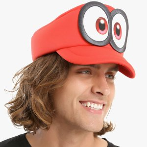 スーパーマリオ 帽子 オデッセイ キャッピー コスプレ かぶりもの テレビゲーム