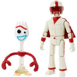 トイストーリー 人形 おもちゃ フィギュア フォーキー & デューク・カブーン 17.7cm acomes