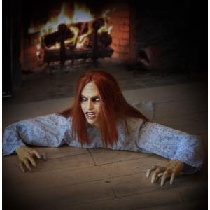 アニマトロニクス 動く ゾンビ 人形 サウンド付き 不気味 ハロウィン 飾り インテリア パーティー 恐怖 怖い グッズ|acomes