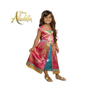 ジャスミン ドレス コスチューム 衣装 ディズニー アラジン コスプレ 子供|acomes