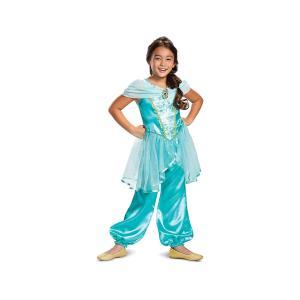 ジャスミン コスチューム 衣装 クラシック ディズニー プリンセス アラジン コスプレ 子供|acomes