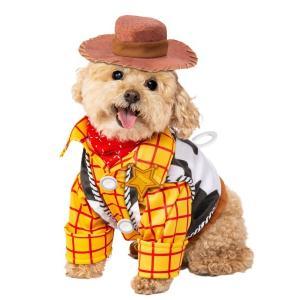 トイストーリー ウッディ コスチューム 犬用 ペット  グッズ ハロウィン 仮装 ディズニー コスプレ イベント 衣装 おもちゃ|acomes