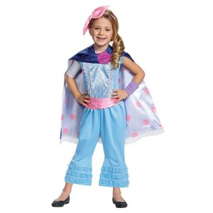 トイストーリー ボーピープ 女の子用 デラックスコスチュームセット  衣装 ハロウィン 仮装 コスプレ イベント キッズ acomes