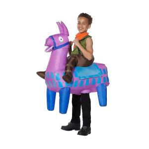 フォートナイト 膨らむ ラマ コスチューム 子供 コスプレ 衣装 テレビゲーム|acomes