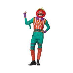 フォートナイト トマトヘッド コスチューム 大人 コスプレ 衣装 テレビゲーム|acomes