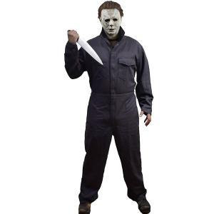 マイケル・マイヤーズの大人用ジャンプスーツコスチュームです。  *マスク、ナイフなどの小道具類、靴は...