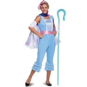 トイストーリー 4 ボーピープ 女性用 コスチューム 杖 セット ハロウィン 仮装 コスプレ 衣装 イベント ディズニー 大人|acomes