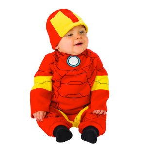 アベンジャーズ エンドゲーム アイアンマン 赤ちゃん ロンパース コスチューム 衣装 ハロウィン 仮装 変装 ベビー スーツ|acomes