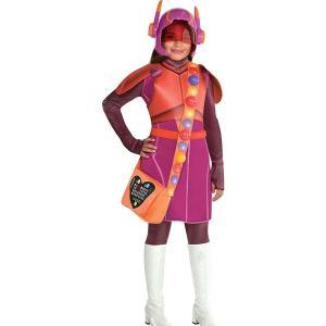 ベイマックス ハニーレモンの女の子用コスチュームです。  *付属内容:ドレス、マスク、チェストピース...