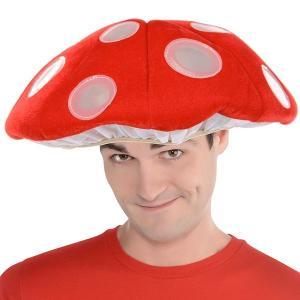 キノコ ライトアップ ハット 光る 帽子 大人 かぶりもの acomes
