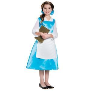 ディズニー 美女と野獣 ベル コスチューム 子供 キッズ コスプレ プリンセス 服|acomes