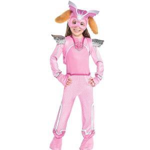 パウパトロール スカイ コスプレ 子供 ジャンプスーツ コスチューム 仮装 衣装|acomes