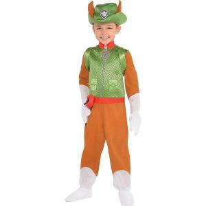パウパトロール トラッカー コスプレ 子供 ジャンプスーツ コスチューム 仮装 衣装|acomes