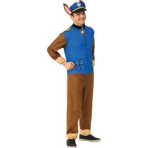 パウパトロール チェイス コスプレ 大人 ジャンプスーツ コスチューム 仮装 衣装|acomes