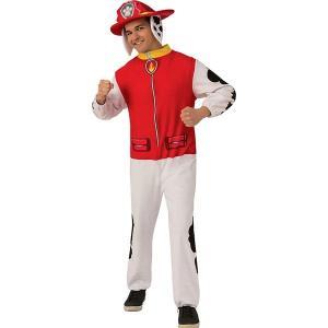 パウパトロール マーシャル コスプレ 大人 ジャンプスーツ コスチューム 仮装 衣装|acomes