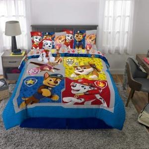 パウパトロール グッズ 子供 寝具 セミダブル/ダブル 掛け布団 シーツ 枕カバー ぬいぐるみ セット|acomes