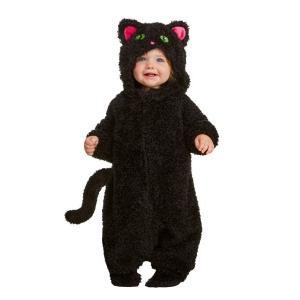 赤ちゃん 黒猫 コスプレ ネコ ベビー コスチューム 子供 衣装|acomes