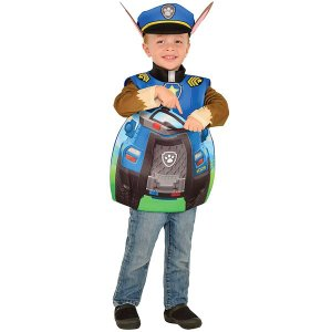 パウパトロール チェイス 3D コスプレ 子供 ポケット付き コスチューム ハロウィン 仮装 衣装|acomes