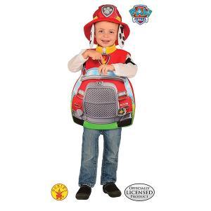 パウパトロール マーシャル 3D コスプレ 子供 ポケット付き コスチューム ハロウィン 仮装 衣装|acomes