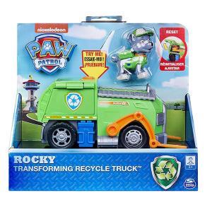 パウパトロール おもちゃ ロッキー トランスフォーミング リサイクル トラック|acomes