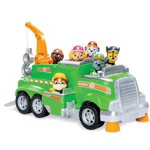 パウパトロール おもちゃ ロッキー トータルチームレスキュー リサイクル トラック|acomes