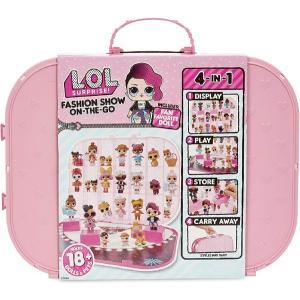 lolサプライズ ファッションショー On-The-Go ストレージ/プレイセット 人形付き ライトピンク