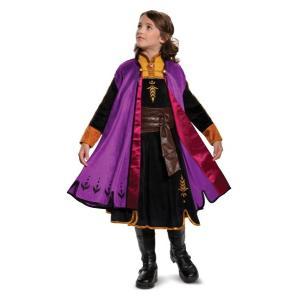 アナと雪の女王 アナ雪 2 アナ ドレス 子供 プレステージ コスチューム 衣装 コスプレ ディズニー公式|acomes