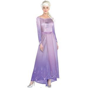 アナと雪の女王2 エルサ コスプレ 大人 コスチューム ハロウィン 衣装 ディズニー 仮装|acomes