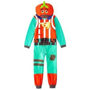 フォートナイト 着ぐるみ パジャマ トマトヘッド コスチューム 子供 コスプレ 衣装 テレビゲーム|acomes
