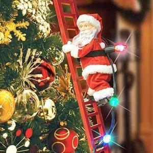 クリスマス サンタクロース オーナメント 飾り スーパークライミング サンタ  ホリデー デコレーション|acomes