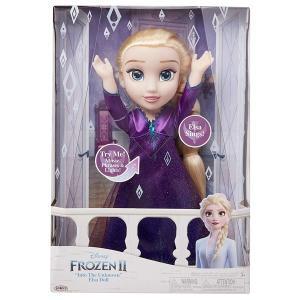 アナと雪の女王 人形 エルサ 歌う しゃべる ドール おもちゃ|acomes