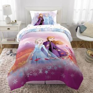 アナ雪 ディズニー ベッドセット シングルサイズ リバーシブル 布団 寝具 アナと雪の女王 Disney Frozen 2|acomes