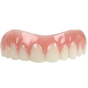 歯並び マウスピース インスタントスマイル 貼るだけ 綺麗な歯 偽物の歯 かぶせ 歯の欠けに 上歯  Natural Shade 通常便は送料無料 acomes