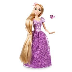 ラプンツェル 人形 ディズニー プリンセス 塔の上のラプンツェル リング付き フィギュア 子供 おも...