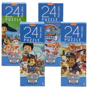 パウパトロール  おもちゃ パズル 24ピース 4個セット 子供 知育玩具 ギフト|acomes